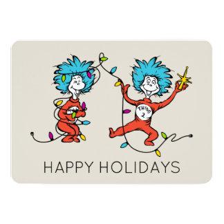 Carte Dr. Seuss | les | danses de la chose 1 et de la