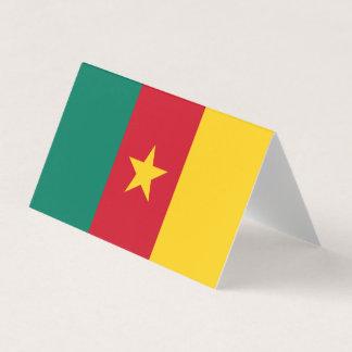 Carte Drapeau du Cameroun
