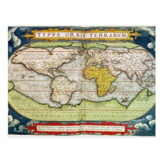 Carte dressant une carte monsieur Francis Drake