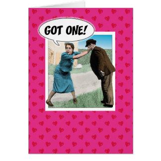 Carte drôle de Saint-Valentin : Obtenu !