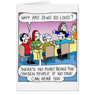 Carte drôle pour Rosh Hashanah - juifs tellement