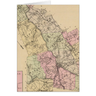Carte du comté d'Androscoggin, Maine
