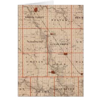 Carte du comté de Dallas, état de l'Iowa