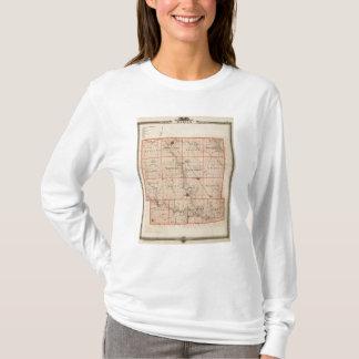 Carte du comté de Dallas, état de l'Iowa T-shirt