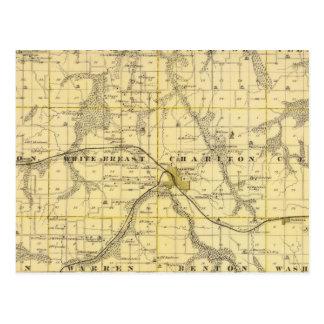 Carte du comté de Lucas, état de l'Iowa