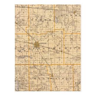 Carte du comté de Marshall