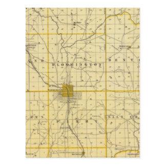 Carte du comté de Monroe