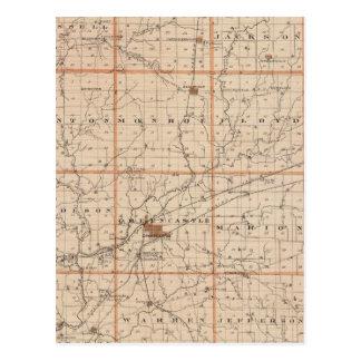 Carte du comté de Putnam