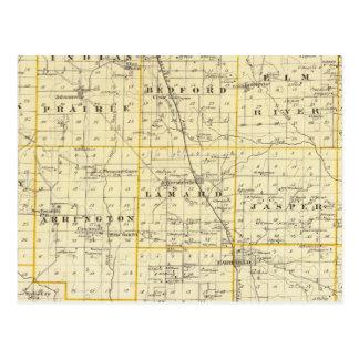 Carte du comté de Wayne