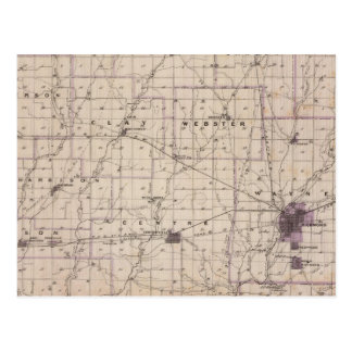 Carte du comté de Wayne 2
