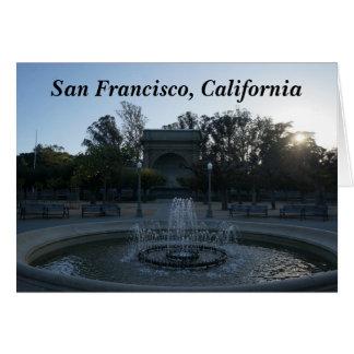 Carte du concours #3 de musique de Golden Gate