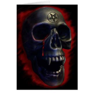 Carte du crâne 1 de démon
