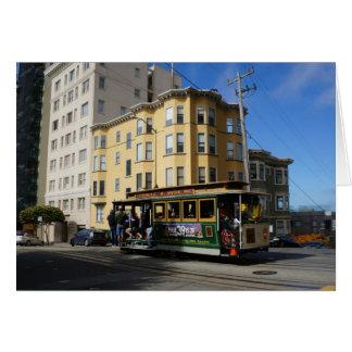 Carte du funiculaire #4 de San Francisco