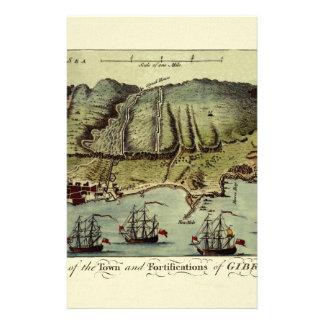 Carte du Gibraltar 1765