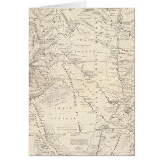 Carte du grand Chaco et des régions voisines