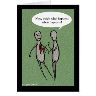 Carte du jour d'Anti-Valentine - compression de