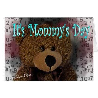 Carte du jour de la maman
