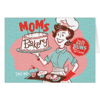 Carte du jour de mère de la boulangerie de la