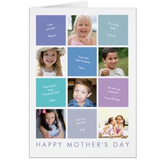 Carte du jour de mère de la grand-maman