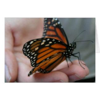 Carte du jour de mère de papillon