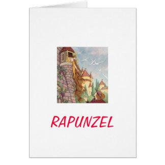 Carte du jour de mère de Rapunzel
