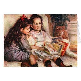 Carte du jour de mère de Renoir