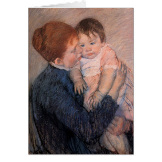 Carte du jour de mère - Mary Cassatt