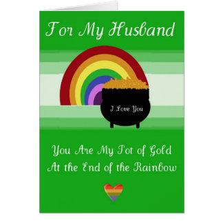 Carte du jour de St Patrick - mari