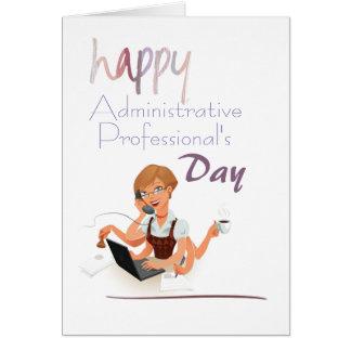 Carte du jour du professionnel administratif