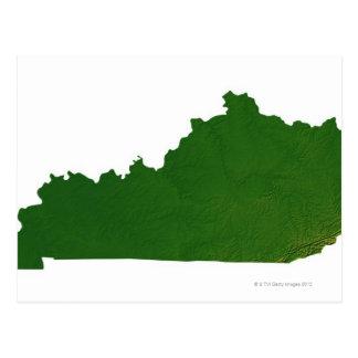 Carte du Kentucky