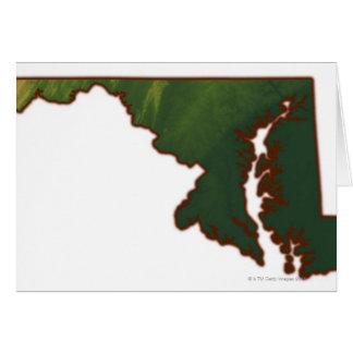 Carte du Maryland