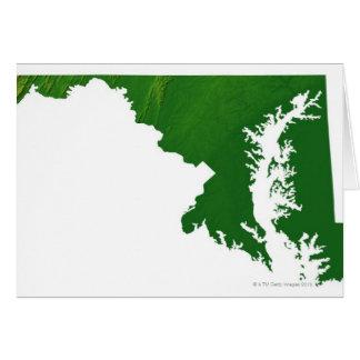 Carte du Maryland 3