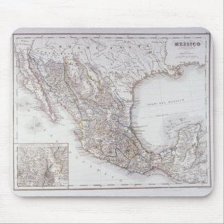 Carte du Mexique 2 Tapis De Souris