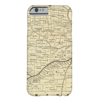 Carte du Missouri 2 Coque iPhone 6 Barely There