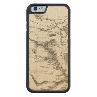 Carte du Missouri Coque iPhone 6 Bumper En Érable