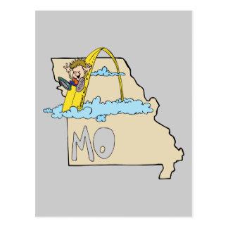 Carte du Missouri MOIS avec la bande dessinée de