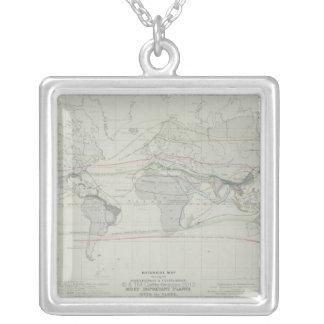 Carte du monde 13 collier