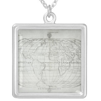 Carte du monde 17 collier