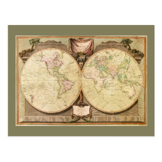 Carte du monde (1808)