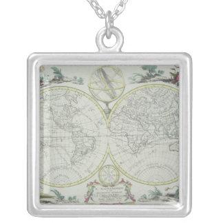 Carte du monde 18 collier