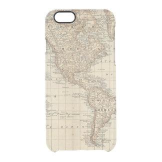 Carte du monde 2 2 coque iPhone 6/6S