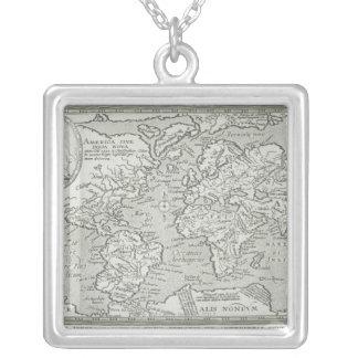 Carte du monde 6 collier