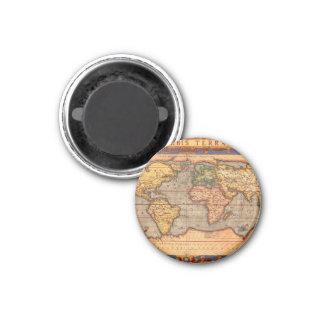 Carte du monde à partir de 1601 magnets pour réfrigérateur
