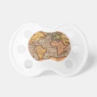 Carte du monde à partir de 1601 tétines
