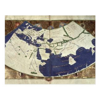 Carte du monde connu, de 'Geographia
