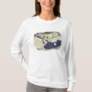 Carte du monde connu, de 'Geographia T-shirt