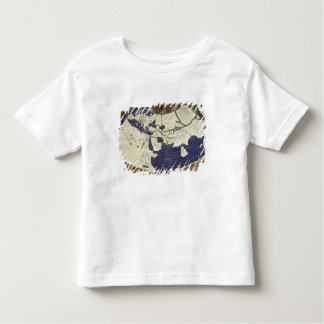 Carte du monde connu, de 'Geographia T-shirt Pour Les Tous Petits