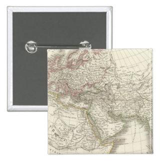 Carte du monde connu des ancients pin's