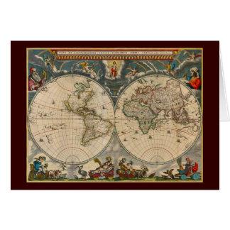 Carte du monde de Totius Terrarum Orbis Tabula de
