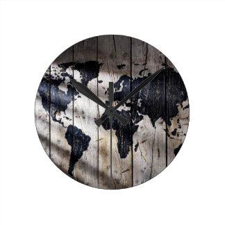 monde en bois horloges monde en bois horloges murales. Black Bedroom Furniture Sets. Home Design Ideas